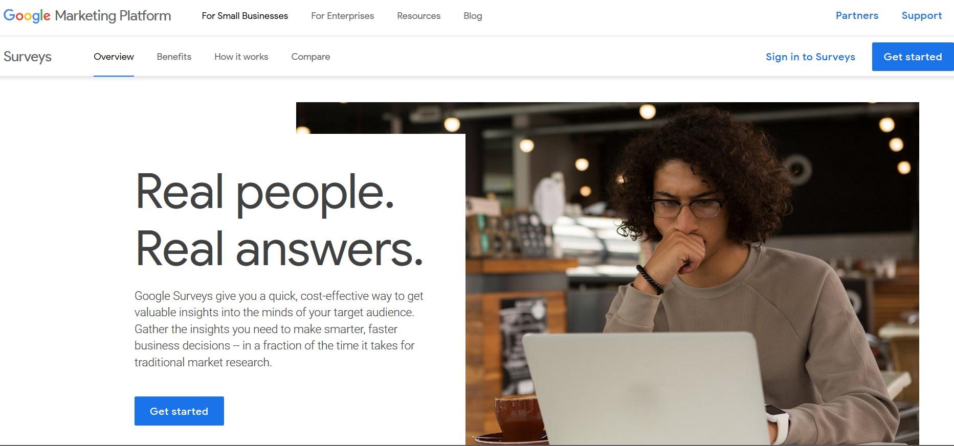 Google Consumer Surveys: Doğru içgörüler keşfedin