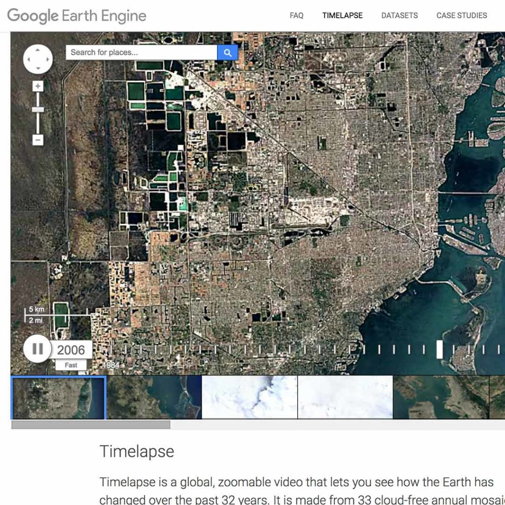 Google Earth Engine-Landsat Timelapse