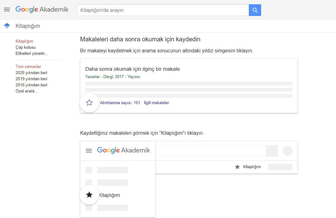 Google Akademik nedir?