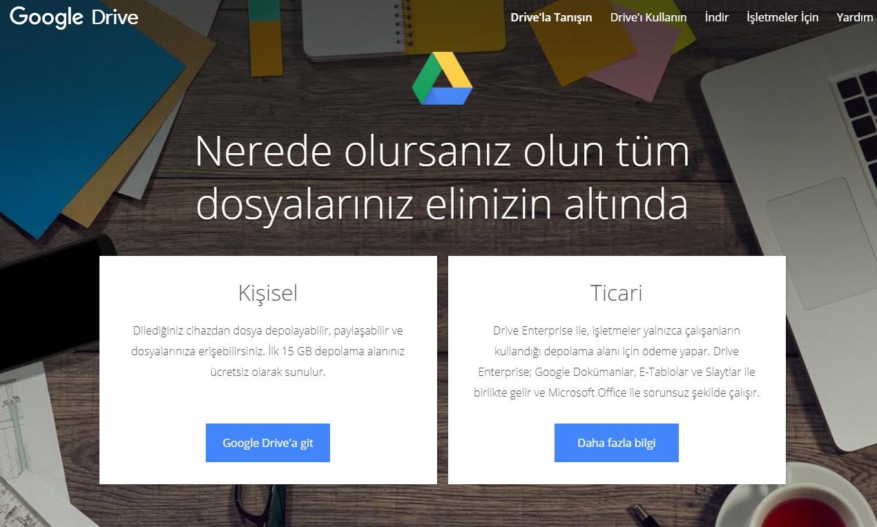 Google Drive ne işe yarar?