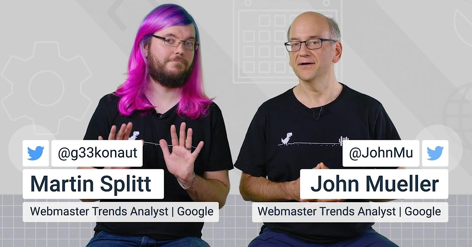 Google's John Mueller & Martin Splitt Answer JavaScript SEO Questions