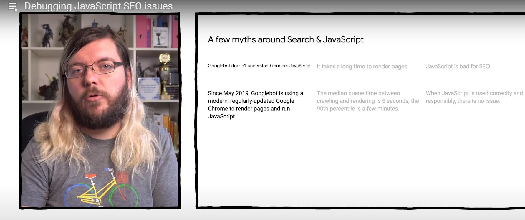 Debugging JavaScript SEO issues – Martin Splitt